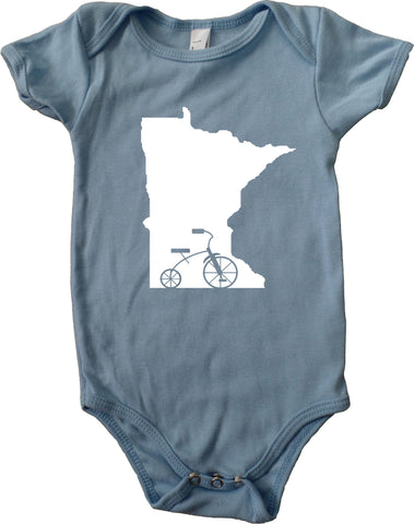 Trike MN - Minnesota Tricycle Infant Baby One-Piece