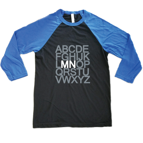 The ABC Minnesota Raglan