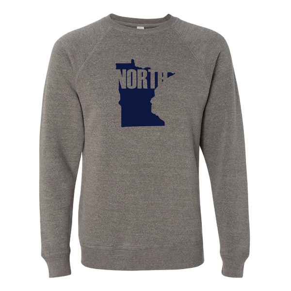 Minnesota Up North Crew Neck Sweatshirt