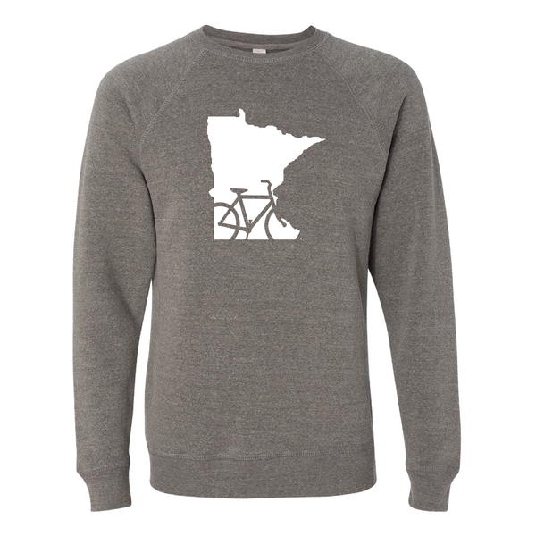 Bike Minnesota Crew Neck Sweatshirt
