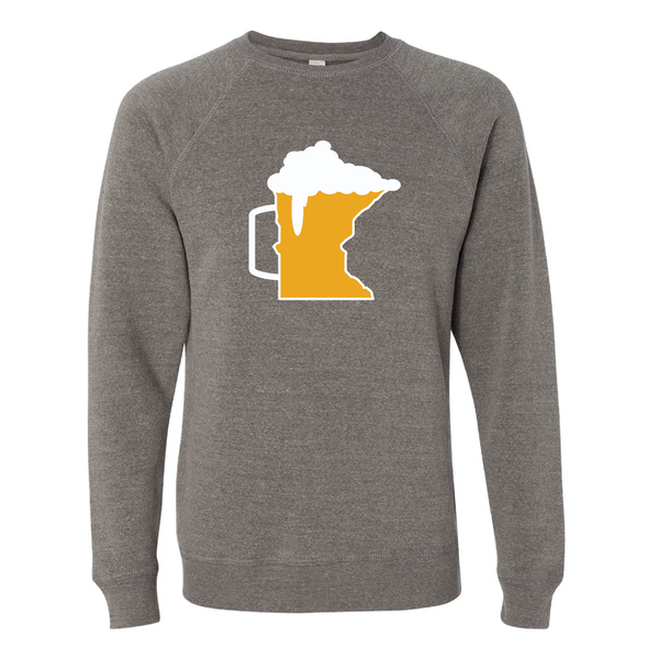Beer Mug Minnesota Crew Neck Sweatshirt
