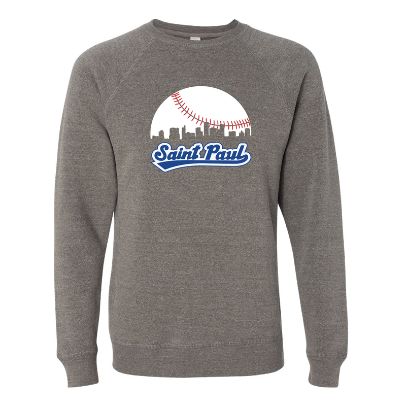 Skyline Saint Paul Baseball Minnesota Crew Neck Sweatshirt