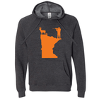 Hunting Orange Minnesota Hoodie