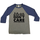 Black Bear Don't Care Minnesota Raglan
