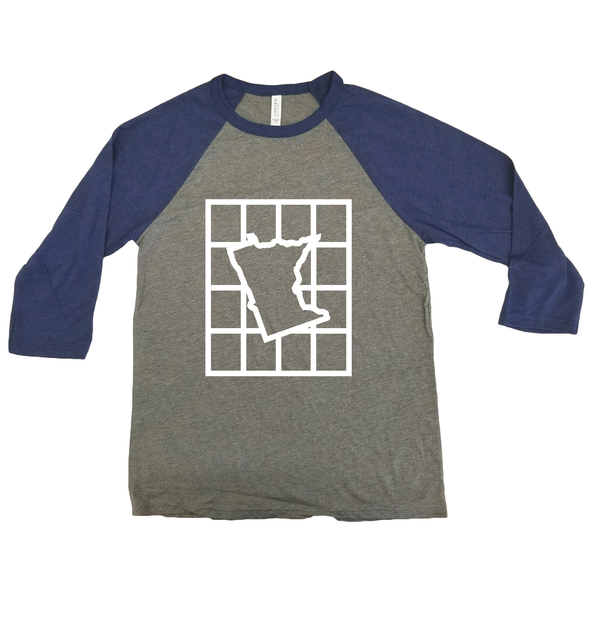 Checkered Minnesota Raglan