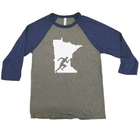 Run Minnesota Raglan