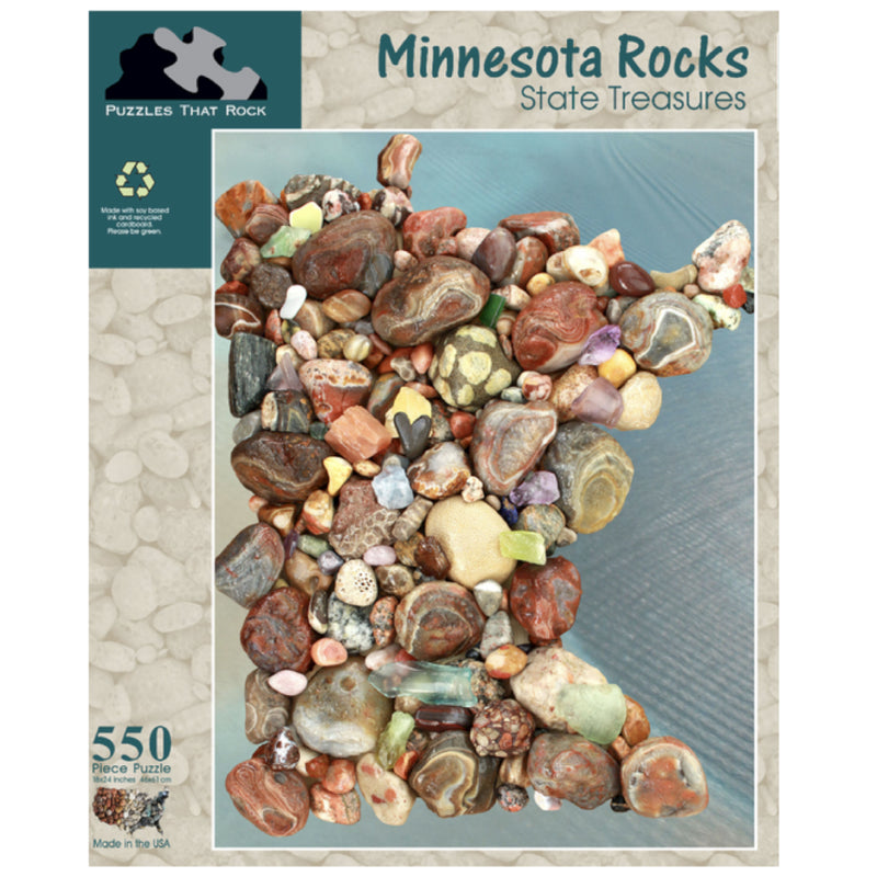 Minnesota Rocks Puzzle