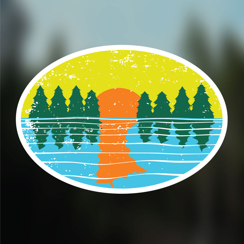 Minnesota Sunset Vinyl Decal