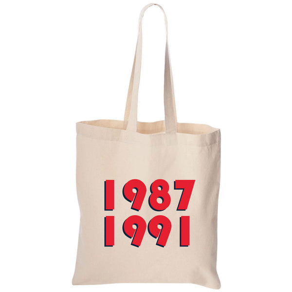 1987 1991 Minnesota Canvas Tote Bag