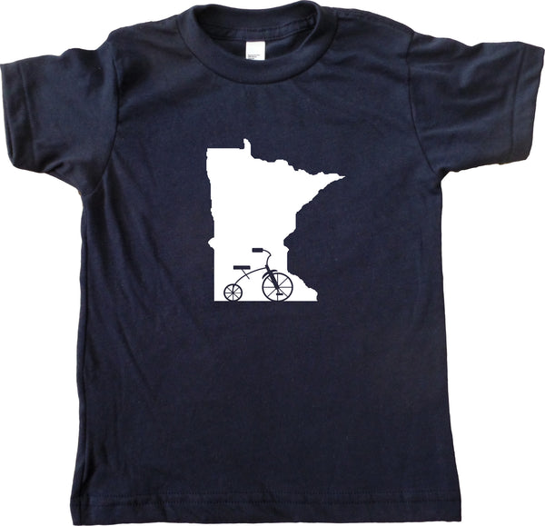 Trike MN - Minnesota Tricycle Kids T-Shirt