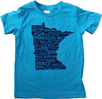 Minnesota Everything Kids T-Shirt