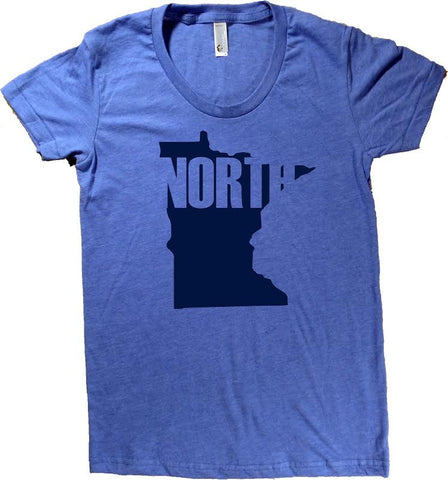 Minnesota Up North T-Shirt - Women's Fitted