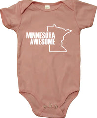 Minnesota Awesome Infant Baby One-Piece