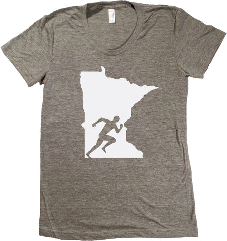 Run Minnesota T-Shirt - Women's Fitted