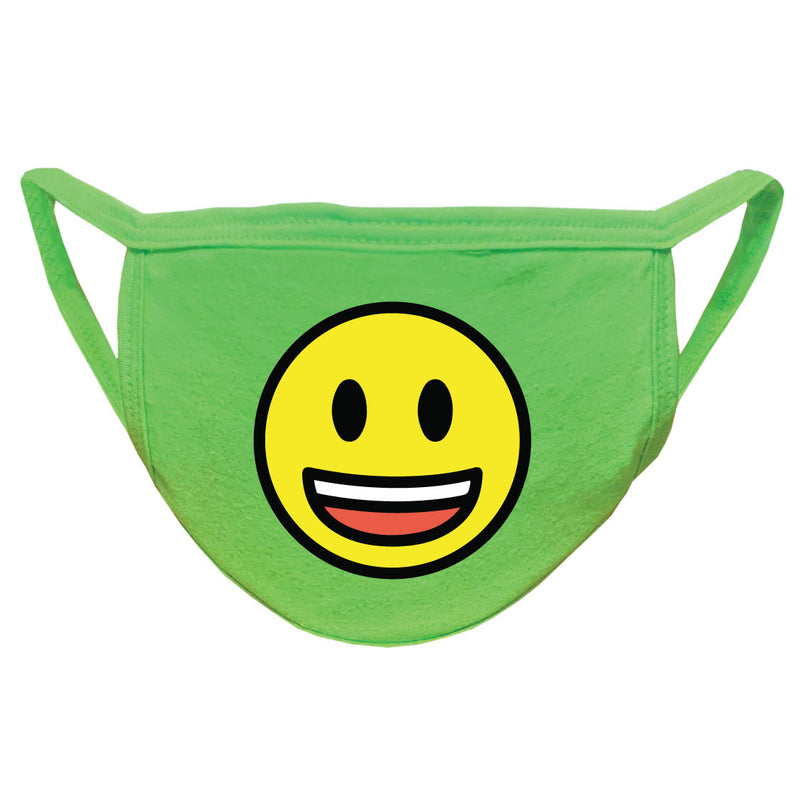 Smiley Face Emoji 2-Ply Face Mask