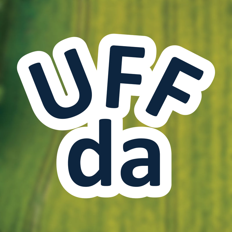 Uff Da Minnesota Vinyl Sticker