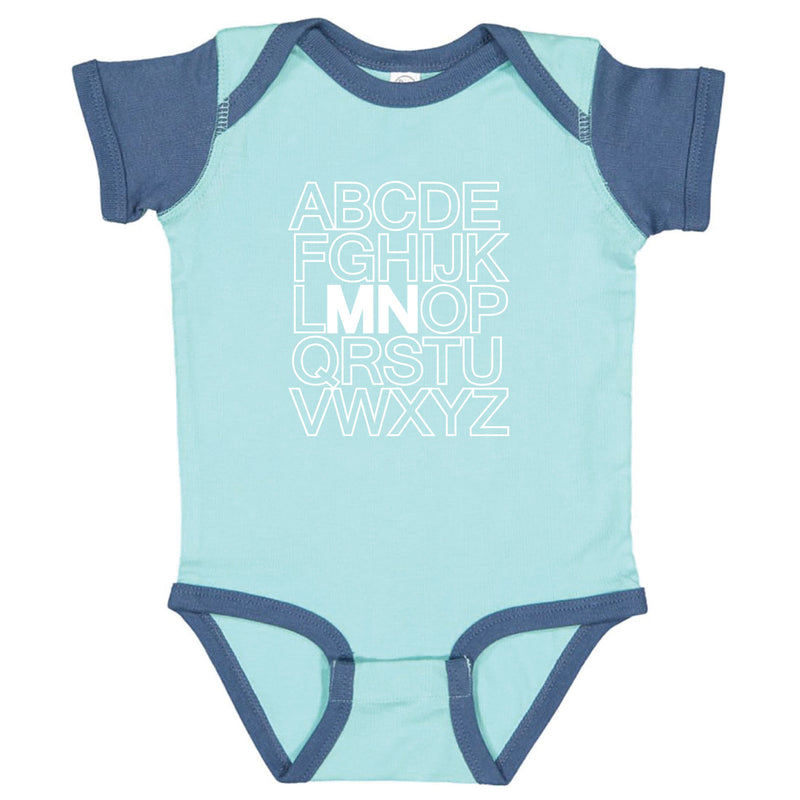ABC Minnesota Infant Onesie