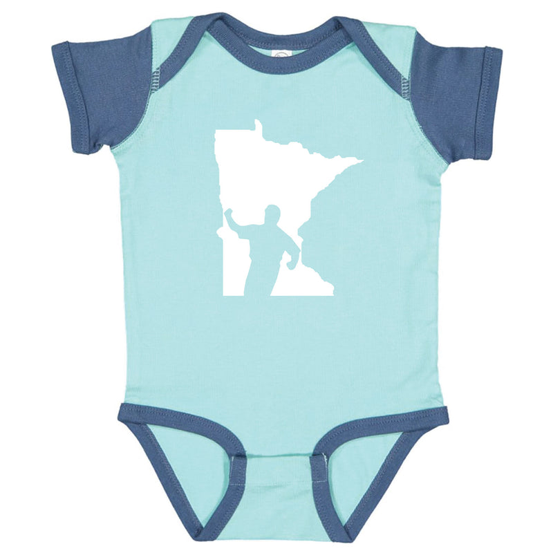 Kirby Minnesota Infant Onesie