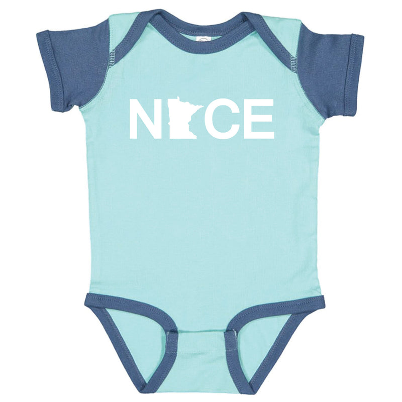 Minnesota NICE Infant Onesie