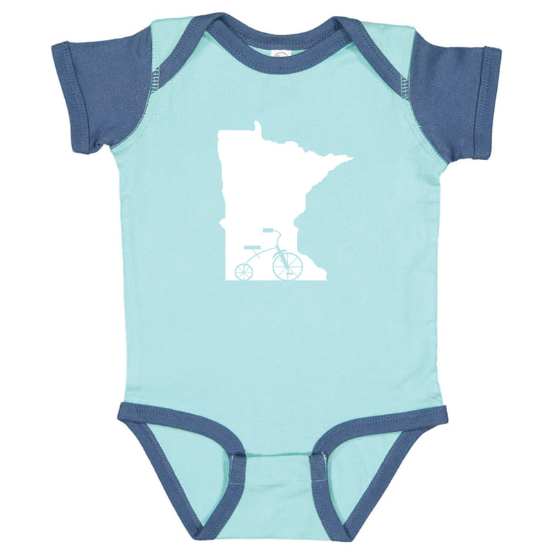 Trike Minnesota Infant Onesie