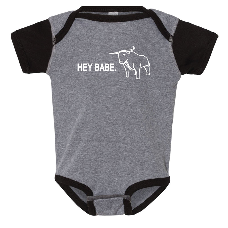 Hey Babe Minnesota Infant Onesie