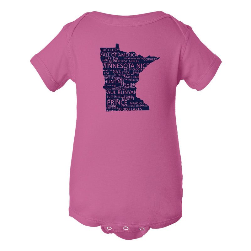 Minnesota Everything Infant Onesie