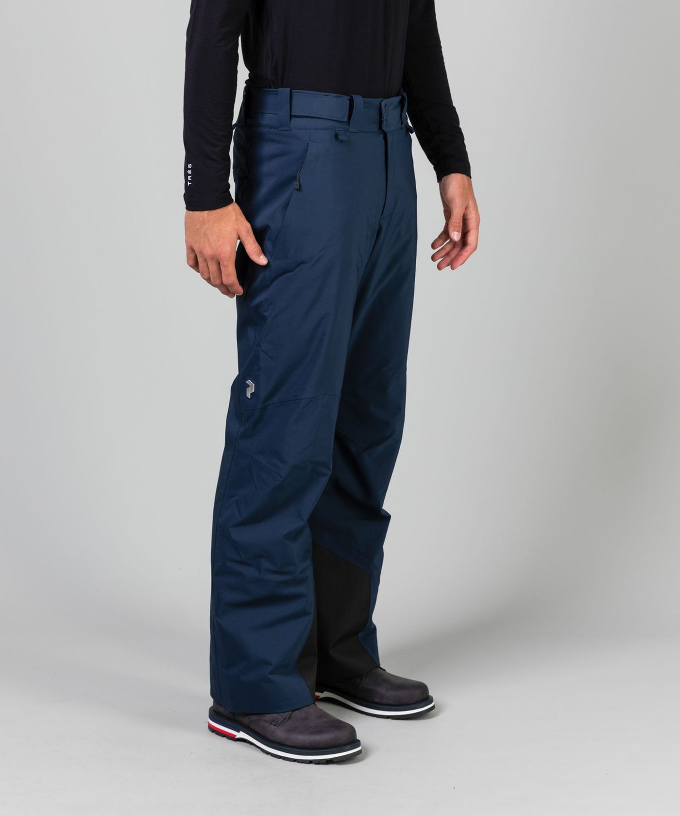 Men's Maroon Ski Pants - Snowsport
