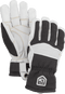 Army Leather Couloir Gloves Hestra Black/White 8