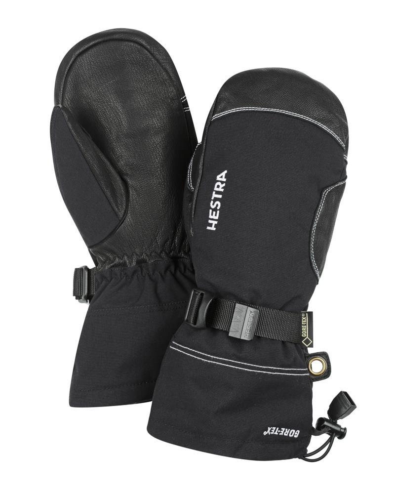 Army Leather Gore-Tex Mitten Gloves Hestra Black/Black 6