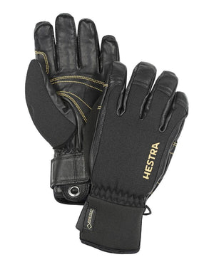Army Leather Short Gore-Tex Glove Gloves Hestra Black/Black 7 - S