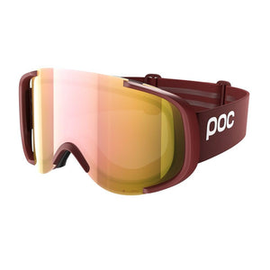 Cornea Clarity Ski Goggles POC Lactose Red/Spektris Rose Gold OS