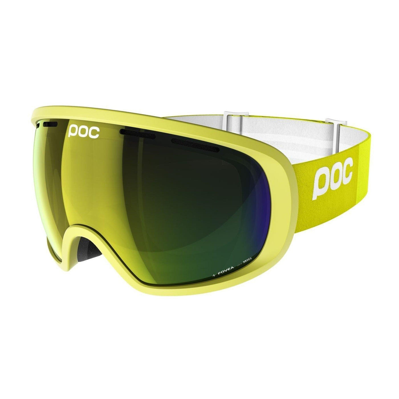 Fovea Ski Goggles POC Hexane Yellow OS