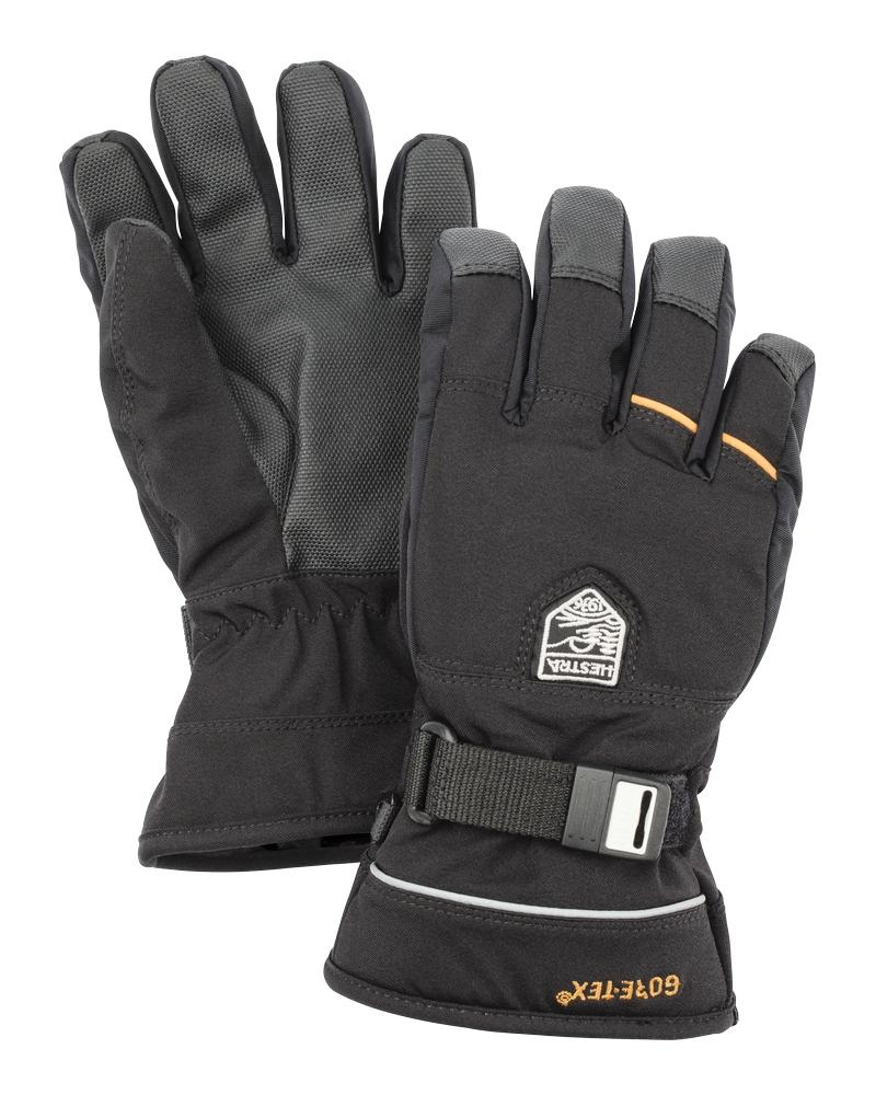 Gore-Tex Flex Jr. 5-finger Gloves Hestra Black 3