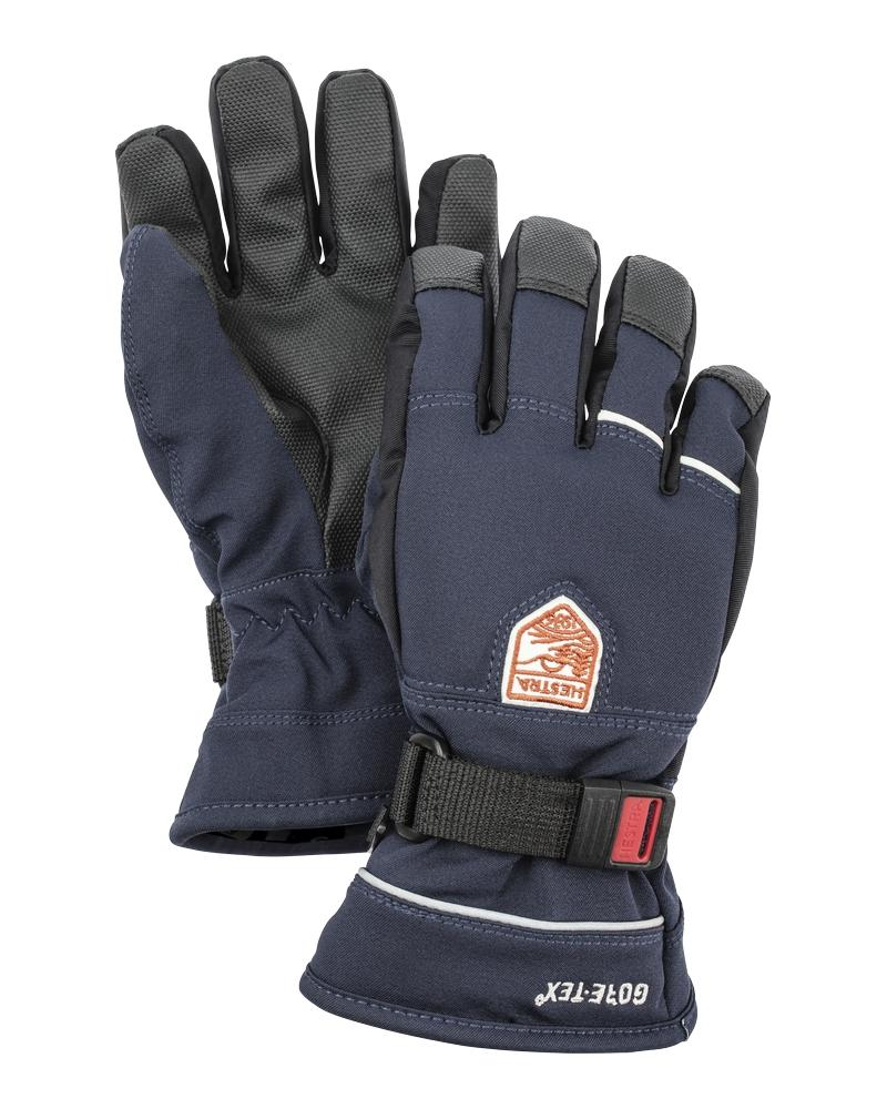 Gore-Tex Flex Jr. 5-finger Gloves Hestra Navy/Black 3