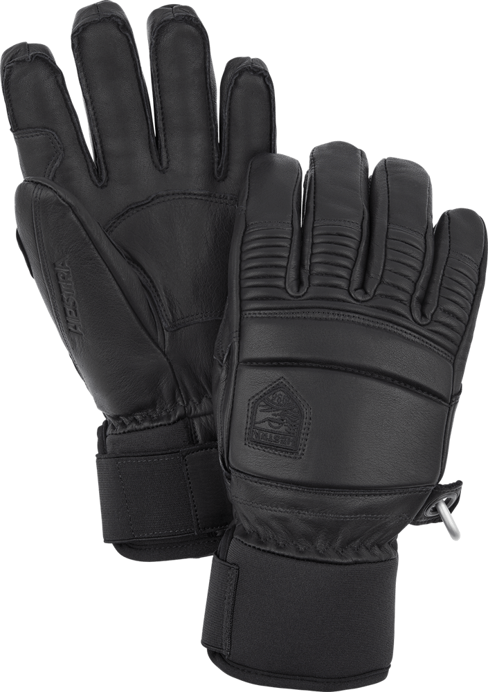 Hestra - Leather Fall Line - 5 Finger Gloves Hestra Black 0