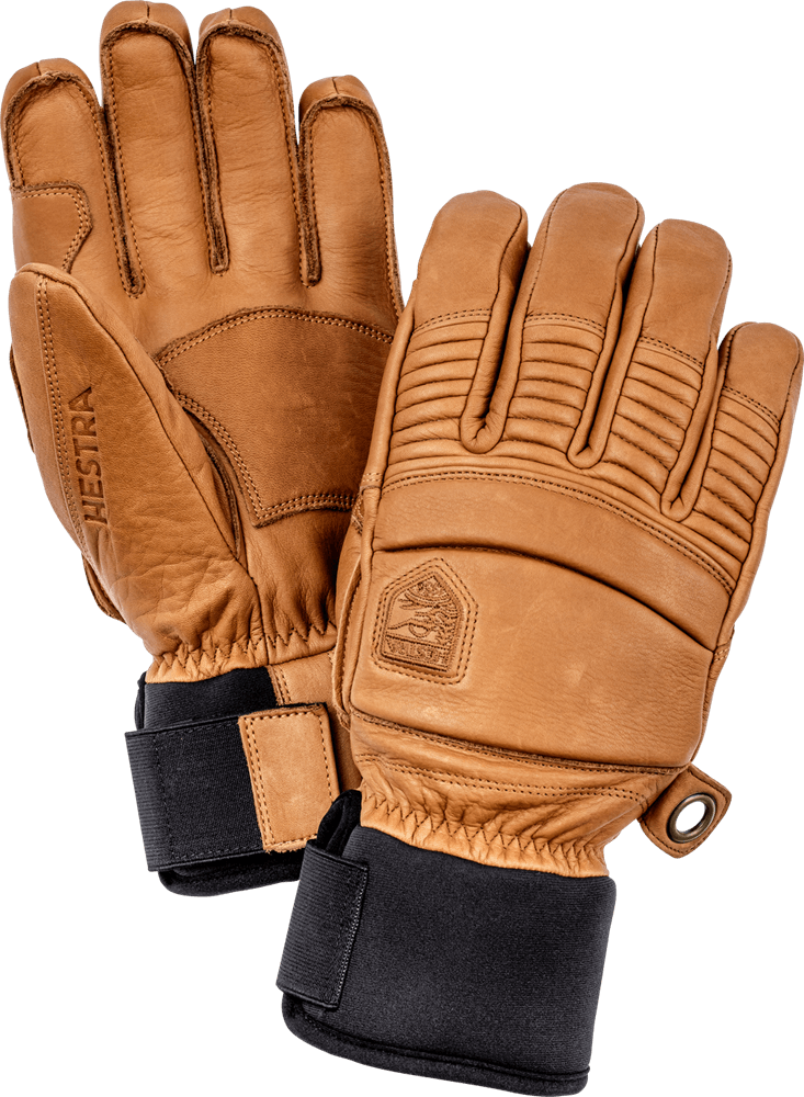 Hestra - Leather Fall Line - 5 Finger Gloves Hestra Tan 6