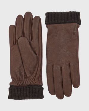 Liv Ladies Glove Gloves Hestra Chocolate 6