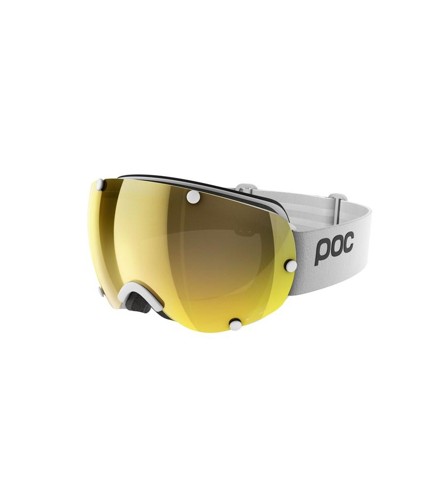Lobes Clarity Ski Goggles POC Hydrogen White/Spektris Gold - Asian Fit OS