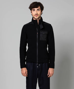Men's Maglia Fleece Mid layer Mid Layer Moncler Black S