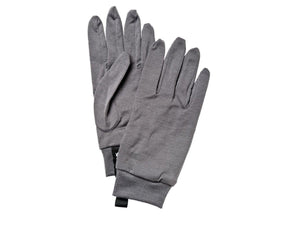 Merino Wool Liner - 5 finger Gloves HESTRA Dark Grey 9