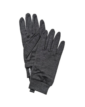 Merino Wool Liner Active Gloves Hestra Charcoal 5