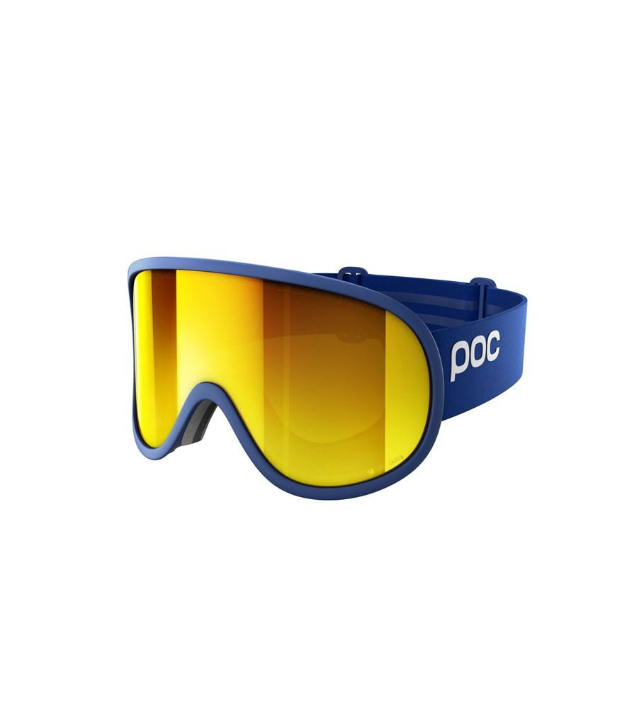 Retina Big Clarity Ski Goggles POC Basketane Blue/Spektris Orange OS