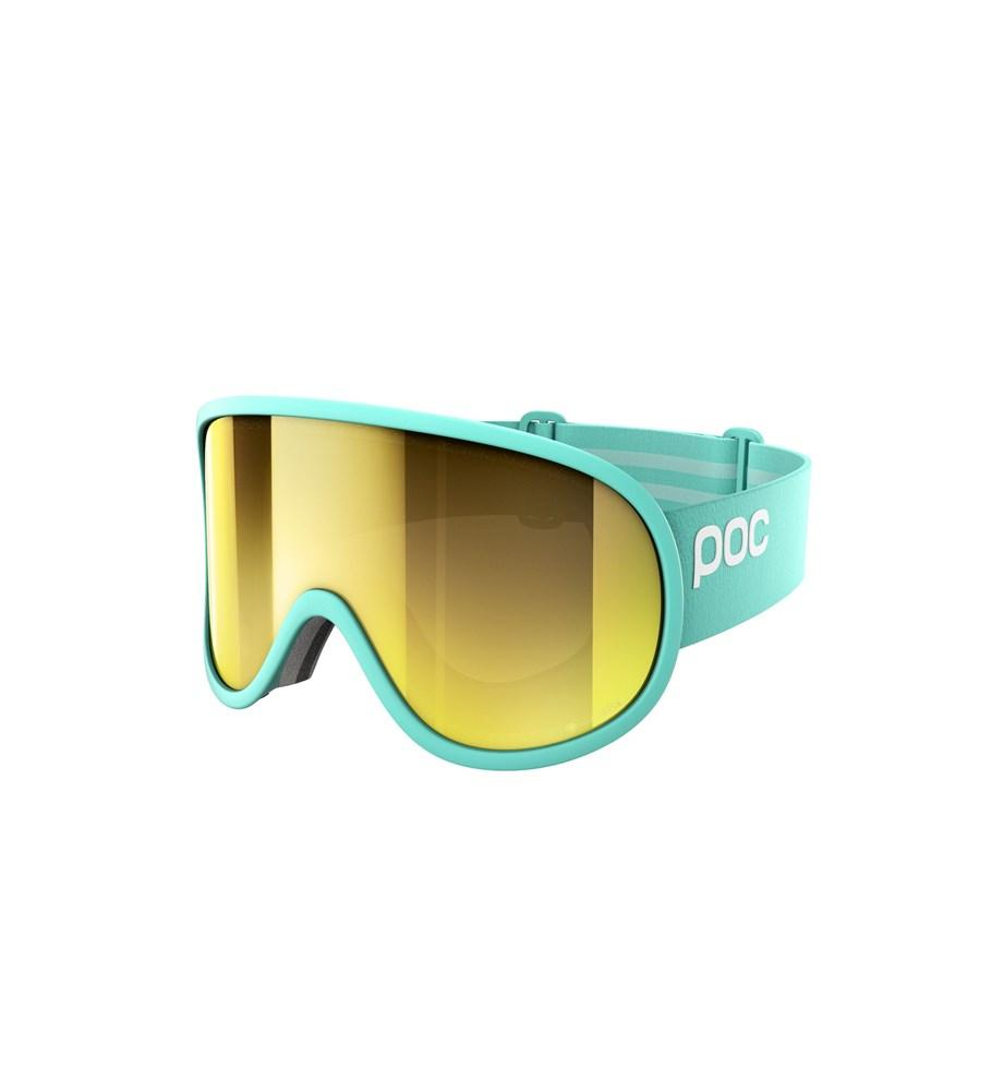 Retina Big Clarity Ski Goggles POC Tin Blue/Spektris Gold OS