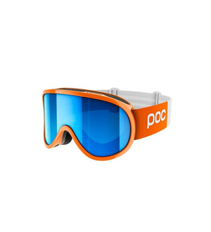 Retina Clarity Comp Ski Goggles POC Zink Orange/Spektris Blue OS