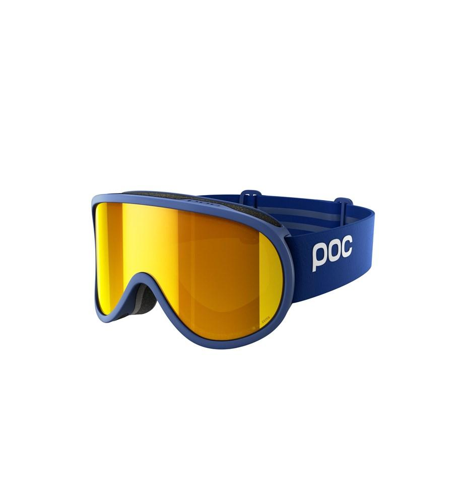 Retina Clarity Ski Goggles POC Basketane Blue/Spektris Orange OS