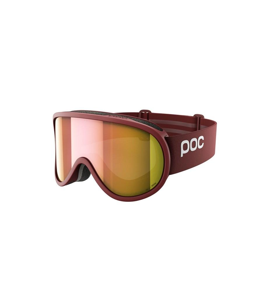 Retina Clarity Ski Goggles POC Lactose Red/Spektris Rose Gold OS