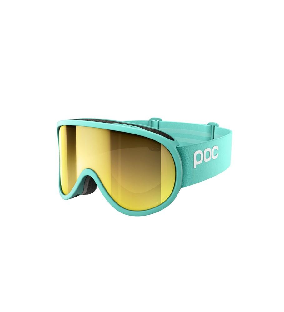 Retina Clarity Ski Goggles POC Tin Blue/Spektris Gold - Asian Fit OS