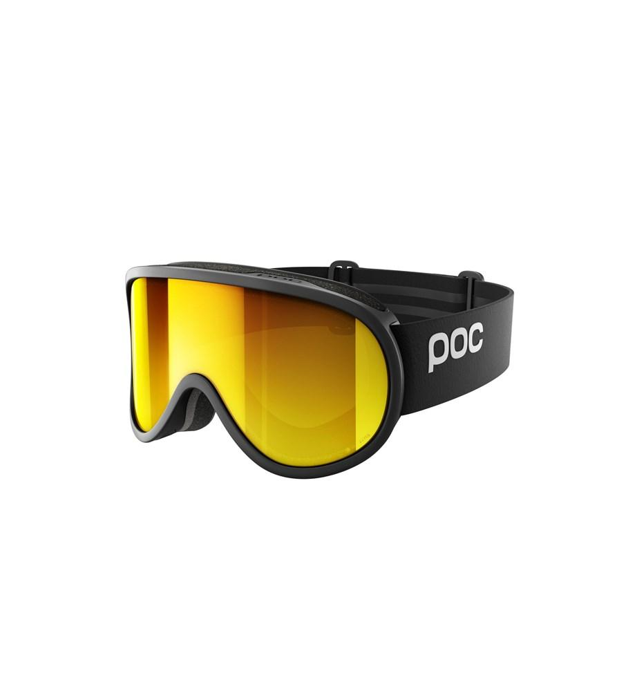 Retina Clarity Ski Goggles POC Uranium Black/Spektris Orange OS