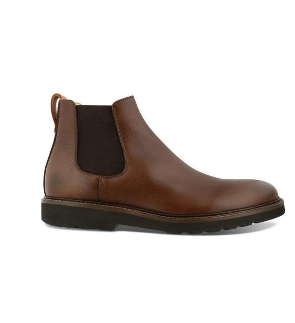 Skogas Leather Chelsea Boot footwear Kavat Dark Brown 40