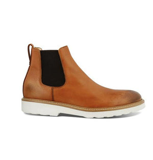Skogas Leather Chelsea Boot footwear Kavat Light Brown 41